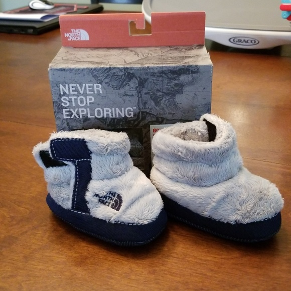 a9db35167 The North Face Boys Infant Fleece Bootie